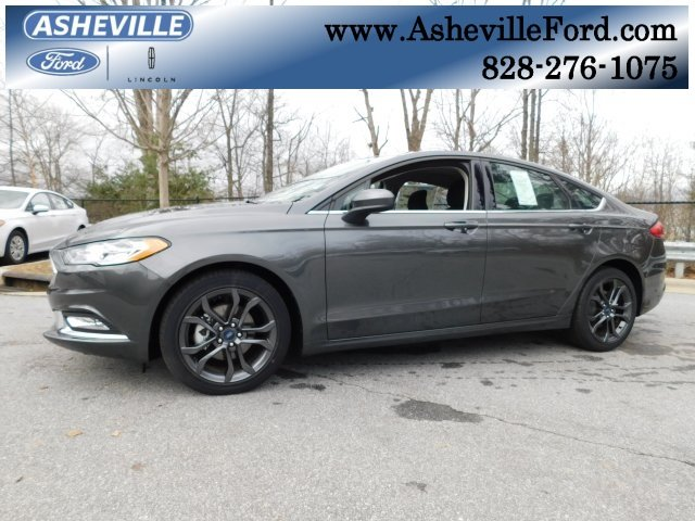 2018 Magnetic Metallic Ford Fusion S Sedan Automatic 4 Door I4 Engine FWD