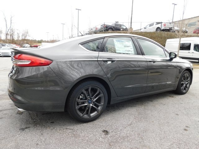 2018 Magnetic Metallic Ford Fusion S FWD Automatic I4 Engine 4 Door