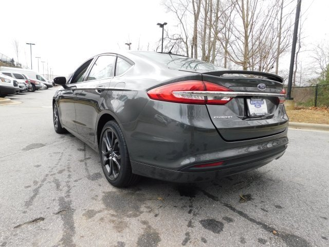 2018 Magnetic Metallic Ford Fusion S Automatic I4 Engine FWD Sedan 4 Door
