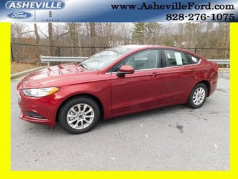 2018 Ruby Red Metallic Tinted Clearcoat Ford Fusion S FWD I4 Engine Sedan 4 Door