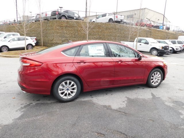 2018 Ford Fusion S Automatic 4 Door Sedan FWD I4 Engine