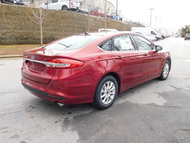 2018 Ford Fusion S I4 Engine Sedan FWD Automatic 4 Door