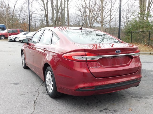 2018 Ford Fusion S FWD Automatic 4 Door I4 Engine