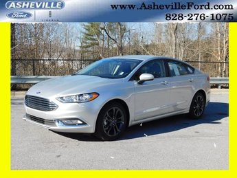 2018 Ingot Silver Metallic Ford Fusion S I4 Engine FWD Automatic