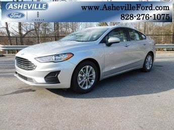 2019 Ford Fusion SE 4 Door FWD Sedan Automatic EcoBoost 1.5L I4 GTDi DOHC Turbocharged VCT Engine