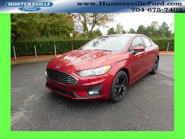 2019 Ford Fusion SE EcoBoost 1.5L I4 GTDi DOHC Turbocharged VCT Engine 4 Door FWD Sedan Automatic