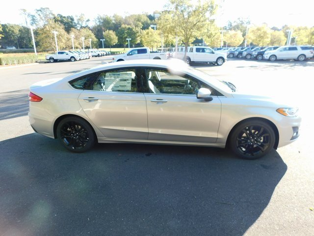 2019 Ford Fusion SE Sedan EcoBoost 1.5L I4 GTDi DOHC Turbocharged VCT Engine Automatic 4 Door