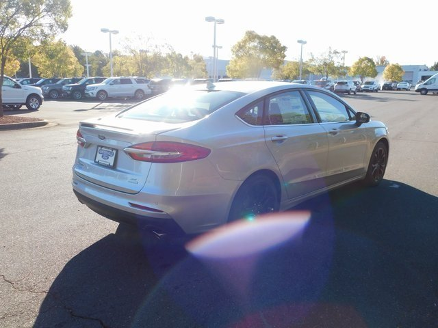 2019 Ingot Silver Metallic Ford Fusion SE 4 Door FWD EcoBoost 1.5L I4 GTDi DOHC Turbocharged VCT Engine Automatic