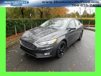 2019 Magnetic Metallic Ford Fusion SE FWD Sedan Automatic 4 Door EcoBoost 1.5L I4 GTDi DOHC Turbocharged VCT Engine