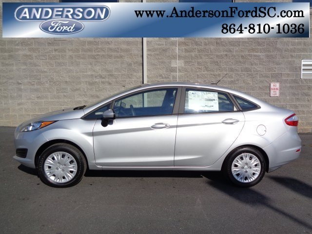 2019 Ingot Silver Metallic Ford Fiesta S FWD Automatic Sedan