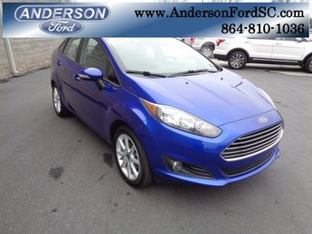 2015 Blue Candy Metallic Tinted Clearcoat Ford Fiesta SE FWD 4 Door 1.6L I4 Ti-VCT Engine