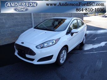 2018 Oxford White Ford Fiesta SE 4 Door Automatic 1.6L I4 Ti-VCT Engine FWD