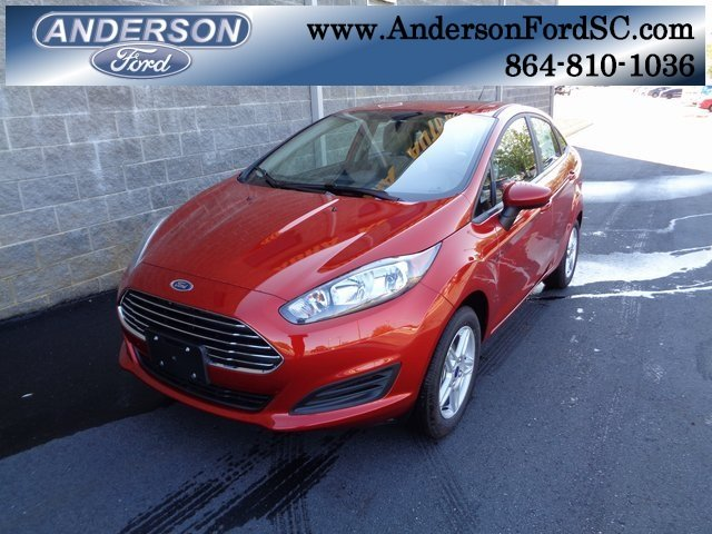 2018 Chili Pepper Red Ford Fiesta SE 1.6L I4 Ti-VCT Engine FWD Automatic 4 Door