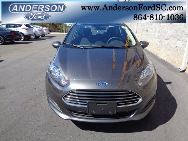 2018 Magnetic Metallic Ford Fiesta SE 1.6L I4 Ti-VCT Engine FWD Automatic