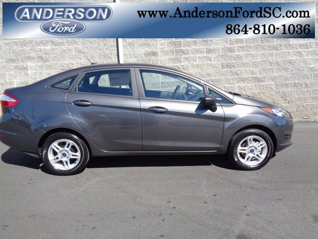 2018 Magnetic Metallic Ford Fiesta SE Automatic FWD 4 Door