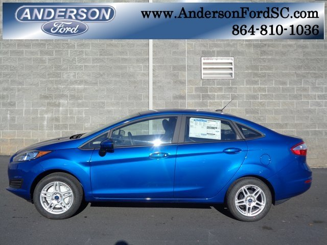 2019 Ford Fiesta SE 4 Door FWD Sedan 1.6L I4 Ti-VCT Engine Automatic