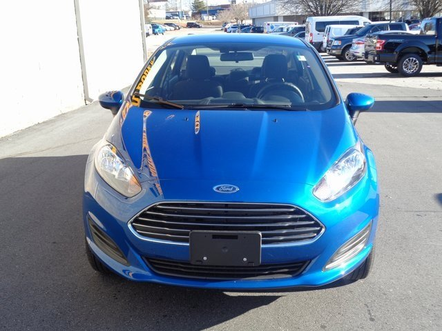 2019 Lightning Blue Metallic Ford Fiesta SE Sedan Automatic FWD 4 Door