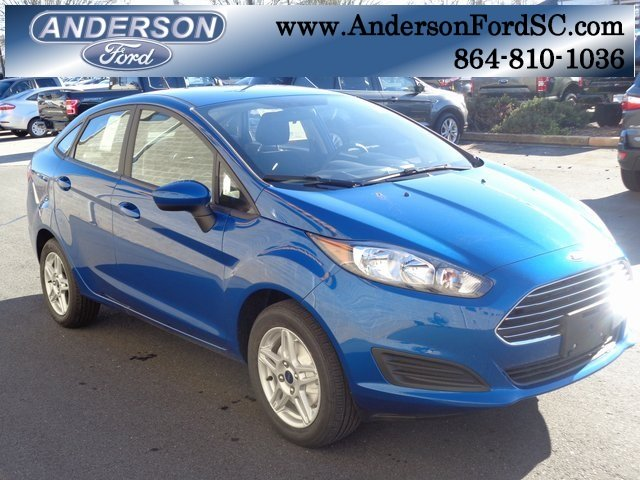 2019 Ford Fiesta SE Sedan 1.6L I4 Ti-VCT Engine FWD 4 Door