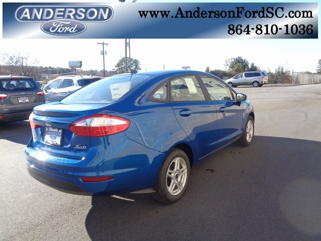 2019 Ford Fiesta SE 4 Door 1.6L I4 Ti-VCT Engine Sedan