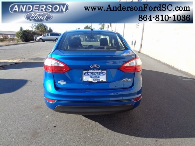 2019 Ford Fiesta SE Automatic 4 Door 1.6L I4 Ti-VCT Engine FWD Sedan