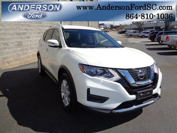2017 Glacier White Nissan Rogue SV SUV AWD 2.5L I4 DOHC 16V Engine Automatic (CVT) 4 Door