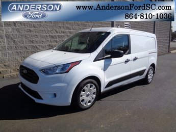 2019 Frozen White Ford Transit Connect XLT 4 Door Automatic FWD I4 Engine Van