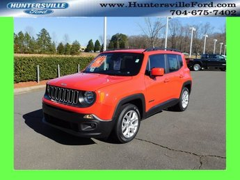 2018 Colorado Red Jeep Renegade Latitude 2.4L I4 Engine FWD SUV