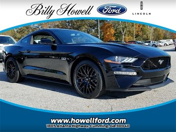 2018 Shadow Black Ford Mustang GT Premium 2 Door RWD Sedan 5.0L V8 Ti-VCT Engine Manual