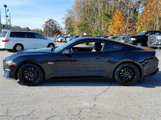 2018 Shadow Black Ford Mustang GT Premium Sedan Manual 2 Door 5.0L Ti-VCT V8 Engine