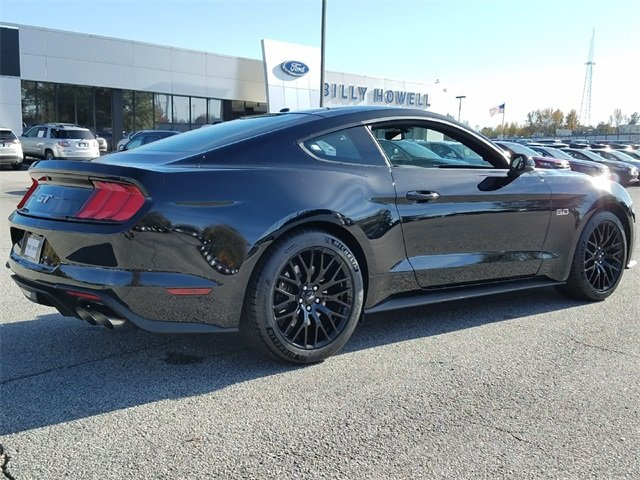2018 Shadow Black Ford Mustang GT Premium Manual Sedan 5.0L Ti-VCT V8 Engine