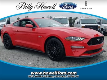2018 Ford Mustang GT Premium Manual 2 Door Coupe RWD