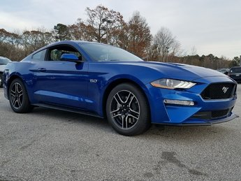 2018 Lightning Blue Ford Mustang GT Sedan 5.0L Ti-VCT V8 Engine RWD Manual