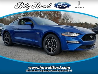 2018 Lightning Blue Metallic Ford Mustang GT 5.0L V8 Ti-VCT Engine 2 Door Manual Sedan