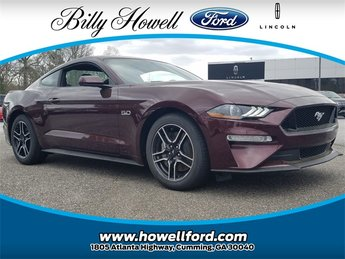 2018 Royal Crimson Metallic Tinted Clearcoat Ford Mustang GT Manual 5.0L V8 Ti-VCT Engine RWD 2 Door Coupe
