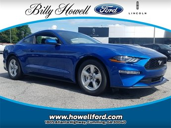 2018 Lightning Blue Metallic Ford Mustang EcoBoost Coupe Automatic RWD