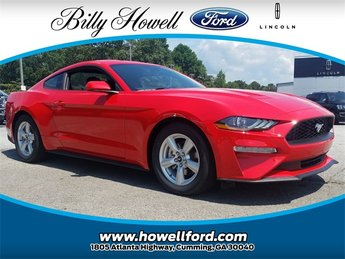 2018 Ford Mustang EcoBoost EcoBoost 2.3L I4 GTDi DOHC Turbocharged VCT Engine RWD 2 Door Coupe Automatic
