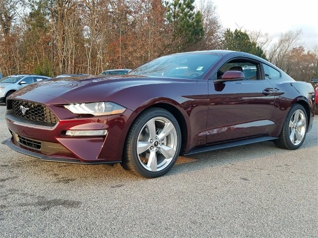2018 Crimson Ford Mustang EcoBoost Premium Automatic Sedan 2 Door EcoBoost 2.3L I4 GTDi DOHC Turbocharged VCT Engine RWD