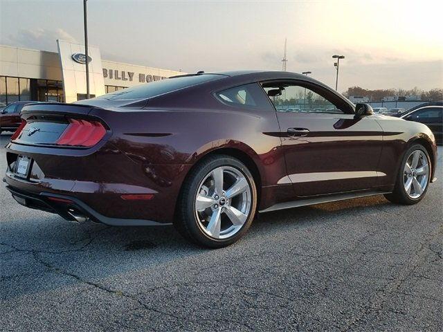 2018 Crimson Ford Mustang EcoBoost Premium EcoBoost 2.3L I4 GTDi DOHC Turbocharged VCT Engine Automatic Sedan RWD