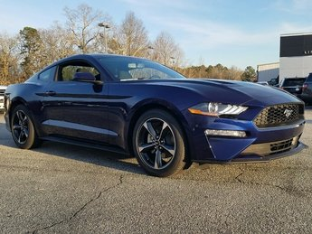 2018 Kona Blue Ford Mustang Ecoboost RWD 2.3L EcoBoost Engine Automatic