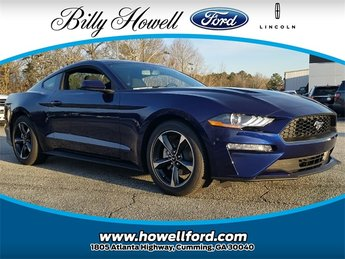 2018 Kona Blue Metallic Ford Mustang EcoBoost RWD Automatic EcoBoost 2.3L I4 GTDi DOHC Turbocharged VCT Engine 2 Door