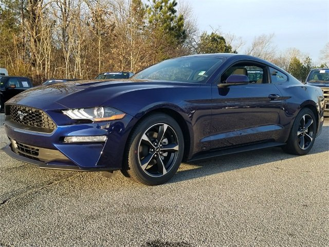 2018 Kona Blue Metallic Ford Mustang EcoBoost Coupe Automatic RWD 2 Door