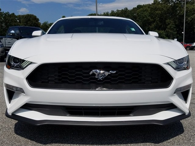2018 Ford Mustang EcoBoost Coupe RWD EcoBoost 2.3L I4 GTDi DOHC Turbocharged VCT Engine