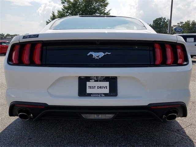 2018 Ford Mustang EcoBoost EcoBoost 2.3L I4 GTDi DOHC Turbocharged VCT Engine RWD Automatic 2 Door