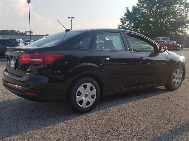2018 Shadow Black Ford Focus S Sedan Automatic I4 Engine 4 Door FWD
