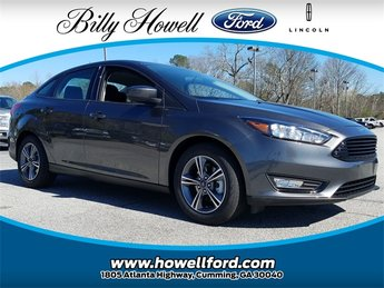 2018 Magnetic Metallic Ford Focus SE 1.0L EcoBoost Engine Sedan Automatic 4 Door FWD