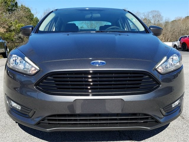 2018 Ford Focus SE Sedan Automatic EcoBoost 1.0L I3 GTDi DOHC Turbocharged VCT Engine