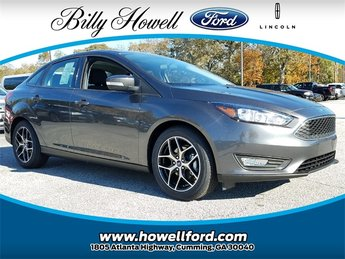 2018 Magnetic Metallic Ford Focus SEL Sedan Automatic I4 Engine FWD 4 Door