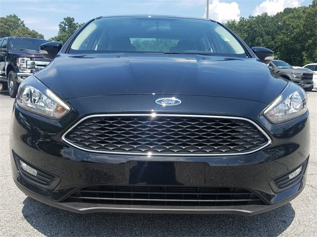 2018 Shadow Black Ford Focus SEL 4 Door Sedan FWD I4 Engine Automatic