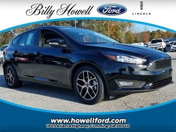 2018 Shadow Black Ford Focus SEL Automatic FWD 2.0L Ti-VCT GDI I-4 Engine