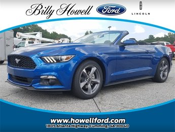 2017 Ford Mustang V6 Automatic 3.7L Ti-VCT V6 Engine RWD Convertible